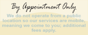 Mobile, by appointment only