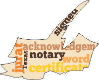 Notary Words