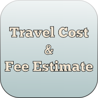 Travel Cost and Fee Estimate