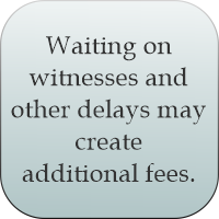 Waiting may create additional fees